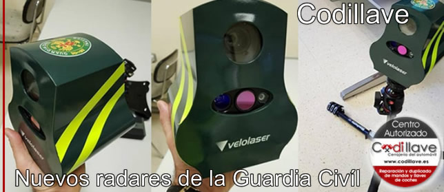 nuevos radares guardia civil